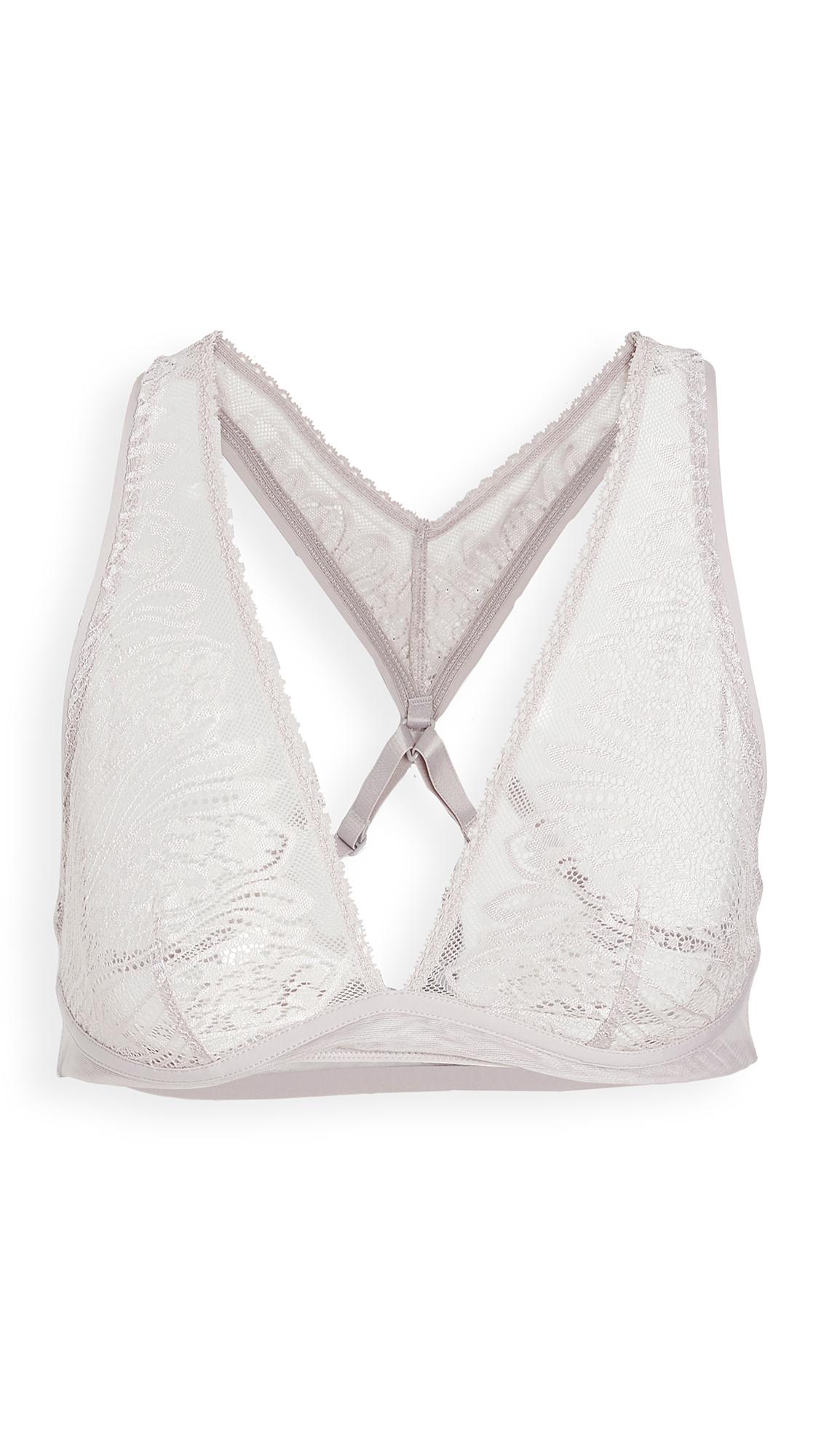Calvin Klein Underwear CK Wave Lace Unlined Bralette