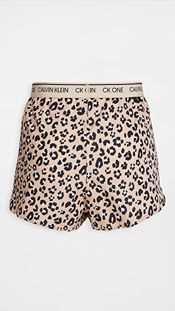 Calvin Klein Underwear CK One Woven's Cotton Sleep Shorts