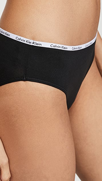 Calvin Klein Underwear 标志性棉比基尼套装