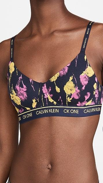 Calvin Klein Underwear One Cotton Lightly Lined Bralette