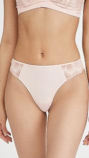 Calvin Klein Underwear Hibiscus 蕾丝丁字裤