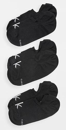 Calvin Klein Underwear - 3 Pack No Show Sport Sock