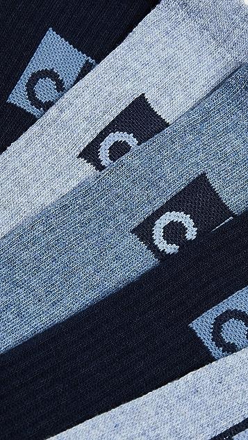 Calvin Klein Underwear 3 Pack Logo Crew Sport Sock