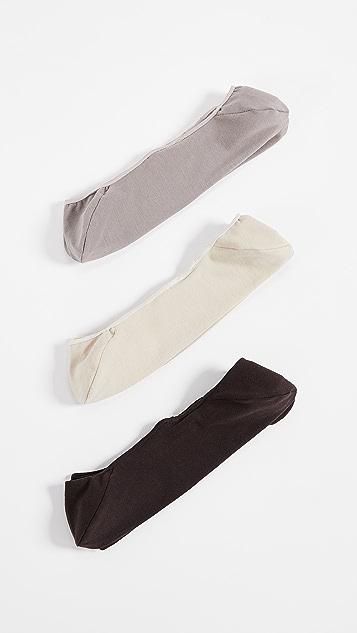 Calvin Klein Underwear 3 Pack No Show Dress Socks