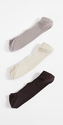 Calvin Klein Underwear - 3 Pack No Show Dress Socks