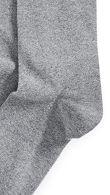 Calvin Klein Underwear Giza Cotton Solid Dress Socks