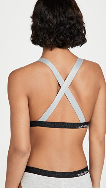 Calvin Klein Underwear Reconsidered Comfort Unlined Bralette