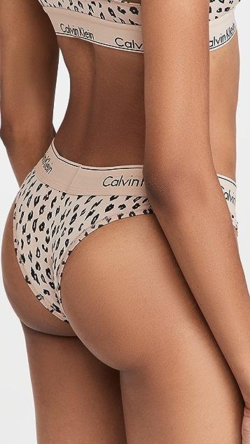 Calvin Klein Underwear Modern Cotton Tanga Thong