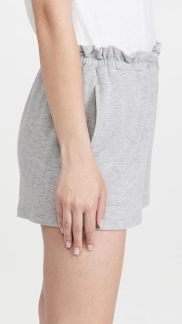 Calvin Klein Underwear Pure Rib Sleep Shorts