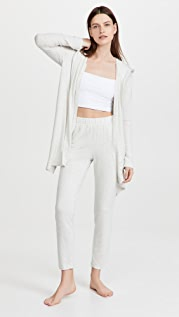 Calvin Klein Underwear Pure Rib Open Hoodie
