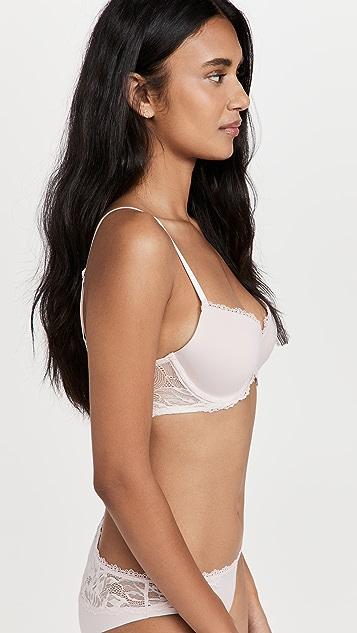 Calvin Klein Underwear Seductive Comfort Lotus Floral Lift Demi Bra