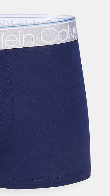 Calvin Klein Underwear 3 Pack Trunks