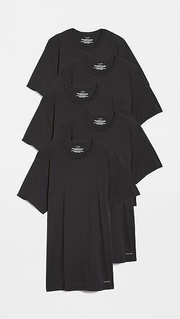 Calvin Klein Underwear Crew Neck 5 Pack