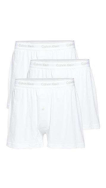 Calvin Klein Underwear Traditional Boxer 3 Pack