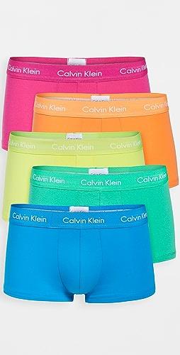 Calvin Klein Underwear - Pride Edit Low Rise Trunk 5 Pack