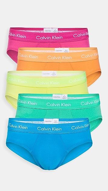 Calvin Klein Underwear Pride Hip Brief 5 Pack