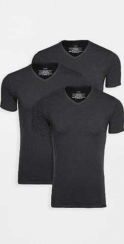 Calvin Klein Underwear - 3 Pack Cotton Stretch V Neck Tee