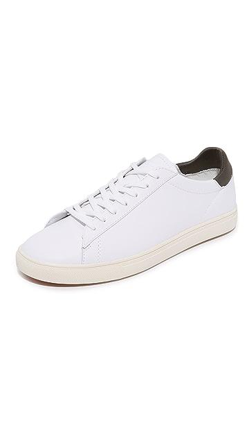 Clae Bradley Leather Sneakers