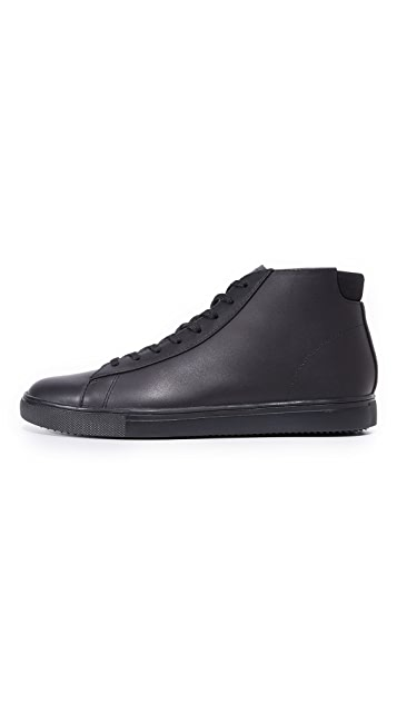 Clae Bradley Mid Leather Sneakers