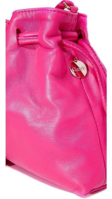 Clare V. Petite Henri Drawstring Bag