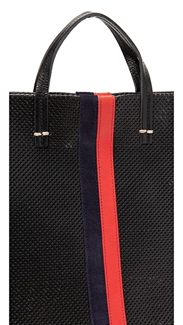 Clare V. Perf Simple Tote