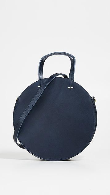 ClareV. Миниатюрная объемная сумка с короткими ручками Alistair