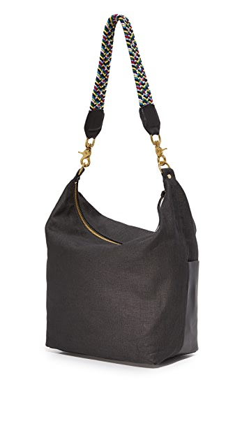 Clare V. Sophie Canvas Hobo Bag