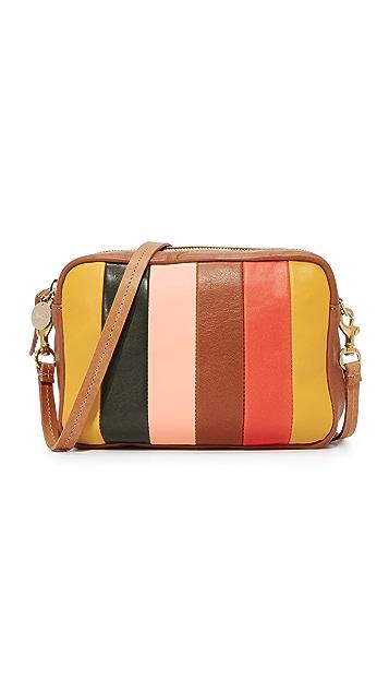Clare V. Midi Sac Patchwork Cross Body Bag