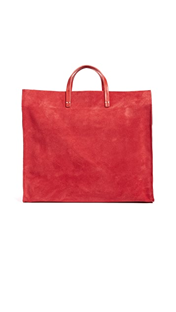 Clare V. Simple Tote with Strap