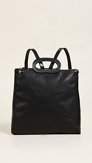 Clare V. Marcelle Backpack Maison - Black