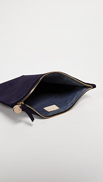 Clare V. Margot Fold Over Clutch