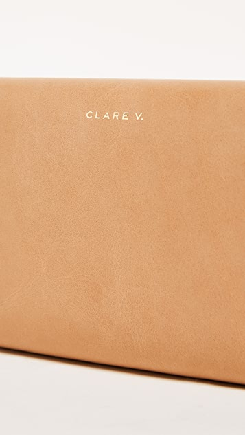 Clare V. Frankie Clutch