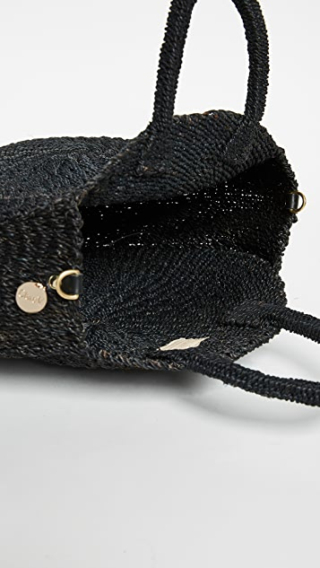 ClareV. Объемная сумка с короткими ручками Alice