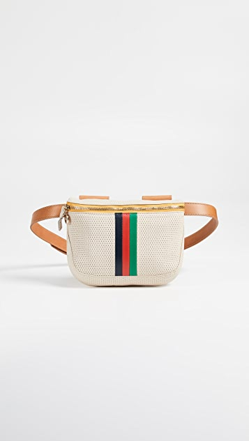 Clare V. Desert Stripe Belt Bag