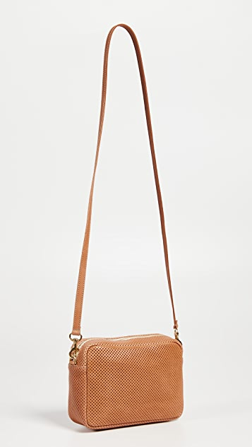 Clare V. Perf Desert Stripe Midi Bag