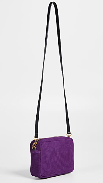 Clare V. Leather Midi Sac