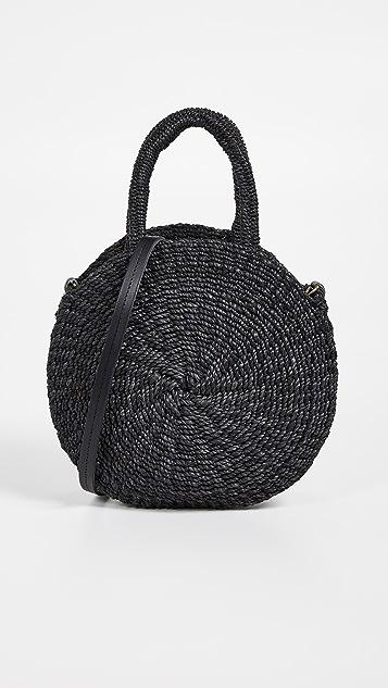 ClareV. Объемная сумка с короткими ручками Moyen Alice