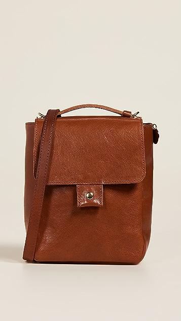 Clare V. Pocket Bag - Miel Rustic