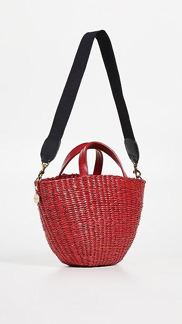 Clare V. Apolline Woven Tote Bag