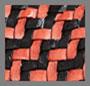 Black/Red Zigzag