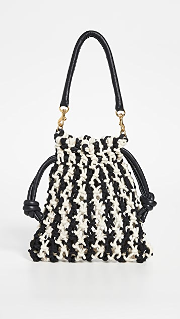 Clare V. Top Handle Sandy Bag