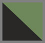 Black/Green Zigzag