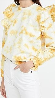 Clare V. 荷叶边运动衫
