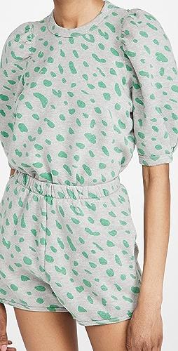 Clare V. - Puff Sleeve Sweatshirt