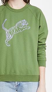 Clare V. Tiger Sweatshirt