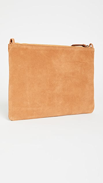 Clare V. Flat Clutch with Tabs