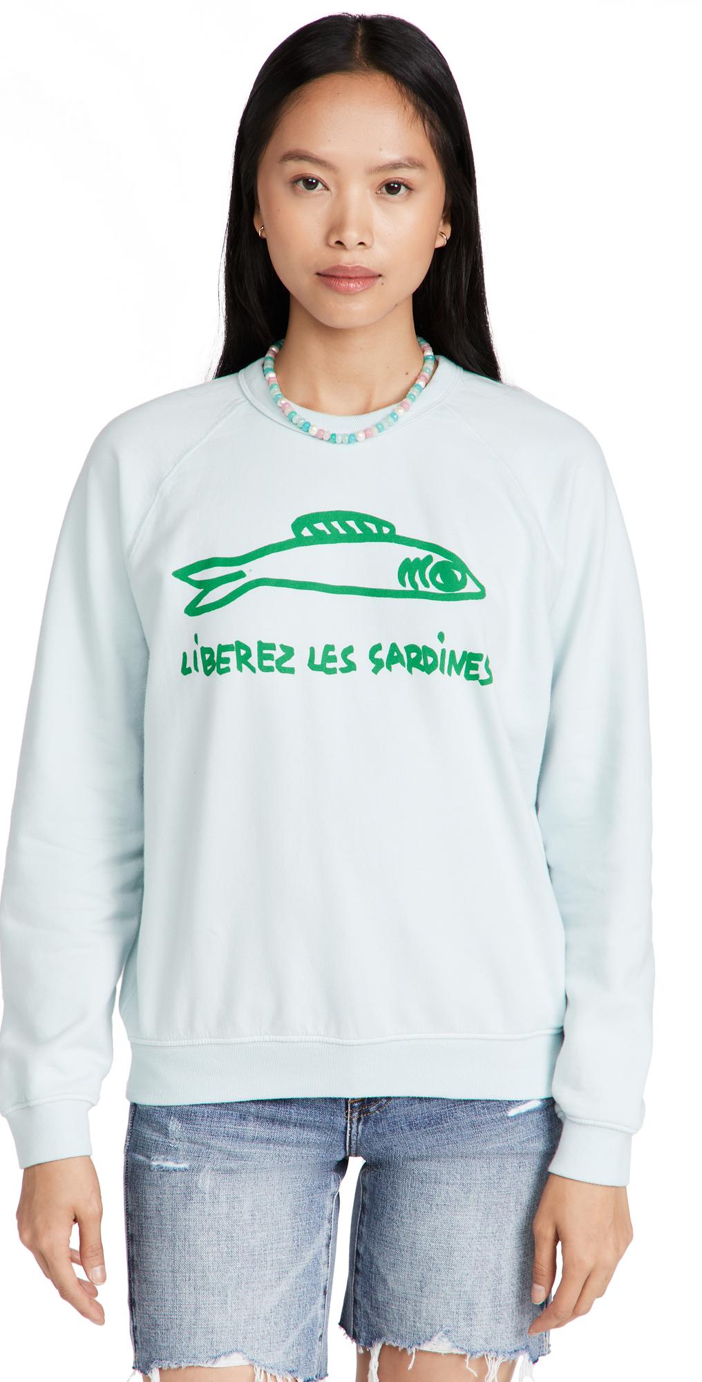Liberez Les Sardines Sweatshirt