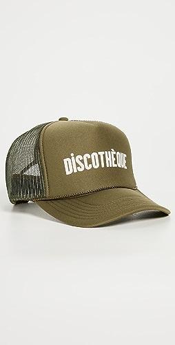 Clare V. - Discotheque Trucker Hat
