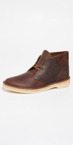 Clarks - Leather Desert Boots