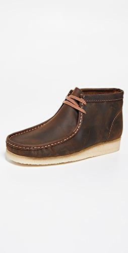 Clarks - Leather Wallabee Boots